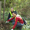 10.15.10 Tree Maintenance Along Herbert Run at Arbutus Elementary : 