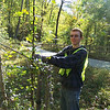 10.16.10 Tree Maintenance Along Patapsco River off the Grist MIll Trail : 