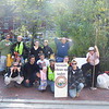 10.23.10 Tiber Hudson Branch Cleanup in Ellicott City : 