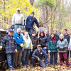 11.17.07 Watershed Cleanup near Miller Branch off Rockhaven Rd. in Patapsco State Park : 
