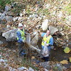 11.7.08 Miller Run Cleanup-Rt. 40-Catonsville : 