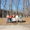 2.15.13 Thomas Viaduct TGIF cleanup : The Patapsco Heritage Greenway is developing a program called the TGIF Team. These folks have agreed to meet monthly on Friday afternoons to clean up areas of the Patapsco Watershed in need of their attention. The first TGIF Team stream cleanup was in the Patapsco River at the Thomas Viaduct. Thanks to this wonderful team, and some other PHG friends, we removed an amazing 625 pounds from this watershed area!  Aside from the usual bottles, cans, plastic bags and food wrappers we usually find in our cleanups (washed down storm drains from litter in the streets and parking lots), volunteers also removed some pool floaties, a safe, a trash can, carpet, a baby crib, 3 tires, scrap metal &amp; piping and a car bumper. The team also noticed heavy erosion and accumulation of fine sediment. Special thanks to our Stream Captain Team members Jeff Klein, Darren Lloyd and Pete McCallum who led the group. Tim Titus and Kit Valentine also deserve recognition for helping the stream captains. And of course, none of this would be possible without ALL of our volunteers! What a difference a small group made in just a few hours!