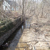 2.25.13 Stream Check Along Sawmill Branch off of Dutton/Edmondson Avenues : On Monday, February 28, 2013, PHG Stream Team Members visited a troublesome area for the past several years located along a section of Sawmill Branch located off of Dutton/Edmondson Avenues in Catonsville.   The parking area behind a business establishment continues to be a source of pollution for the trash and other debris that ends up in this section of Sawmill Branch.  These photos were reported to Baltimore County for investigation and action to encourage the business owners not only to clean up the trash in this area of the stream, but their parking area where the trash will eventually end up in the stream.  We also have requested that the county regularly monitor this area to make sure the businesses comply and keep this section of Sawmill Branch clean!!!!