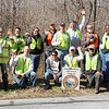 3.22.13 River Rd. Cleanup w/Baker Group & Lockheed Martin in Anne Arundel Co. : On Friday, 22 March 2013, employees of Baker Group in Linthicum and Lockheed Martin in Hanover teamed up to clean up a notoriously popular dumpsite in Patapsco Valley State Park -- on River Road in Anne Arundel County.  The area hadn't been cleaned for years and had scores of tires, furniture, animal carcasses, as well as the usual bottles and cans.  Ironically, this is a popular fishing spot on a pond wedged between River Road and the Patapsco River.  There is more to clean up in this area but it looks 110% better now!