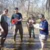 3.24.10 BWET Program-Bascom Creek Water Quality Testing with HCC Students : 