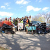 4.13.13 Catonsville Park Cleanup : The Patapsco Heritage Greenway joined some local organizations for a cleanup last Saturday, April 13th, at Catonsville Park; focusing on the Sawmill Branch. The groups who joined us deserve to be recognized and praised for their incredible help! A total of 61 volunteers of all ages helped remove a remarkable 2370 pounds of trash from this watershed area--and what a difference they made in just a few hours! Susan Koches was the spark that lead this cleanup with the Oakcrest Community Civic Association (OCCA). We are so grateful to her and to the other groups who came out to help--PHG friends, HCC students, St. Mark Cub Scout Pack 456, Sudbrook Magnet Middle School and the OCCA! A very special thanks to our Stream Captain team: Jeff Klein, Darren Lloyd, Pete McCallum, Drew Henderson and Peggy Clark. The garbage we found and removed was the usual type of stream trash we often see during our cleanups; such as bottles, cans, food wrappers, plastic bags & liquor bottles. Some of the more Interesting items found were wallets, a MasterCard, shackles, shopping carts, a lawn mower, bread trays, ~215 lbs. of tires, ~360 lbs. of scrap metal and ~70 lbs.of plastic debris. Nature spotting: a small brown bat.