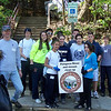 4.16.10 In Historic Ellicott City, Cleanup Along the Patapsco River with Hammond Middle School :