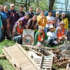 4.20.13 Cleanup along the #9 Trolley trail :