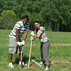 4.24.10 Tree Planting at Patapsco State Park near Belmont : 