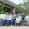 4.27.11 Patapsco River Cleanup at Hammonds Ferry by T Rowe Price Employees : 
