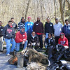 4.4.09 Cleanup at Tiber Hudson Branch :