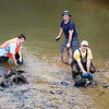 6.13.12 Piney Run Cleanup : Stream Captain Jon Merryman held a small cleanup along Piney Run in order to remove some large metal objects.  Stream Captain Pete McCallum, Stream Captain Pete Block and Stream Cleanup Coordinator Jeff Klein were in attendance for the event.  The day was successful because a great amount of metal and sandbags were removed from the area.