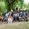 7.12.12 Patapsco River (near Lost Lake in Patapsco State Park)  cleanup w/ UMBC students : Incoming students from UMBC conducted a cleanup at Lost Lake in the Patapsco state park.  The students did an excellent job in cleaning up one of the most heavily used parts of the park.  Stream Captains Kathy Younkin, Pete McCallum, Pete Block, UMBC senior Devin Greenburg, and Stream Watch Coordinator Jeff Klein were all in attendance for this mid-summer event.