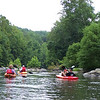 8.8.09 Guided Kayak Ride in Daniels Area of Patapsco River :