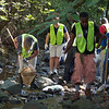 9.22.10 Stream Cleanup Along Bull Run in Catonsville :