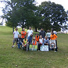 9.23.12 English Ivy removal at CCBC w/ Catonsville Tree Savers : On a sunny Sunday in September, Patapsco Heritage Greenway partnered with several groups for an Invasive Plant Removal event. Our PHG leaders Jeff Klein, Pete McCallum &amp; Pete Block joined Alvera Winkler--who organized this important event to remove and educate everyone about how deadly English Ivy can be to our local trees. Groups from Tree Savers of Catonsville, CCBC, UMBC &amp; HCC removed and clipped Engilsh Ivy from around the trees in the Bull Run area. The thicker vines were cut and left to die on the trees. This invasive species gets out of control so quickly!! It's important to keep it at bay! We hope our volunteers were able to avoid the poison ivy around the area!! Thanks again to all who helped that day.