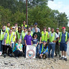 9.25.10 Cleanup Along Patapsco River off Hammonds Ferry Rd in Halethorpe : 